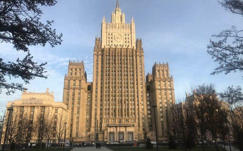 Rusiya XİN: Beynəlxalq təşkilatların danışıqlar prosesində hər hansı bir iştirakı yalnız Bakı və İrəvanın razılığı ilə mümkündür